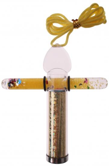 Goki Caleidoscoop Met Toverstaf 2 X 10 cm Geel