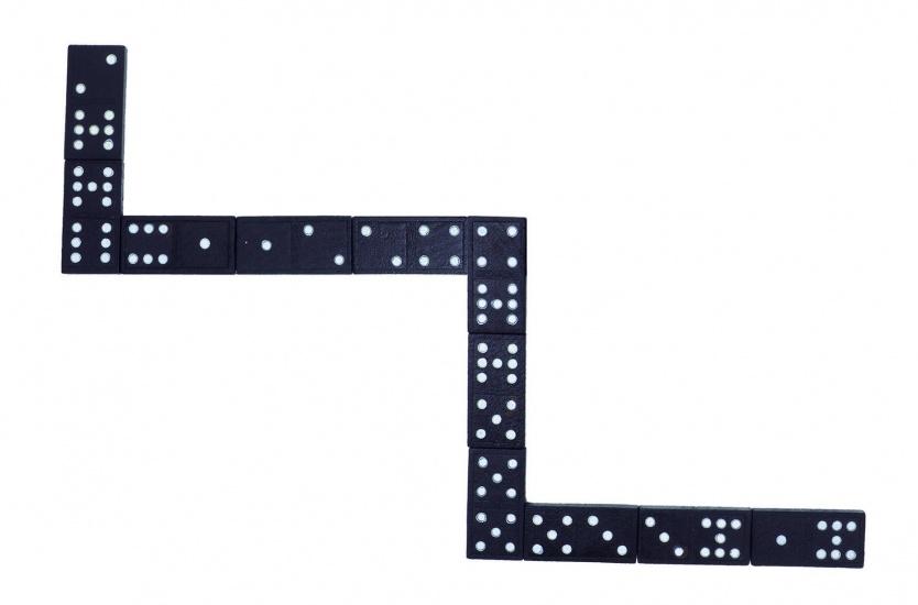 Goki Domino 55 Blokjes 2,2 X 4,3CM