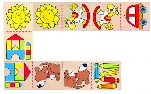 Goki Domino Mijn Eerste Domino 28 Blokjes