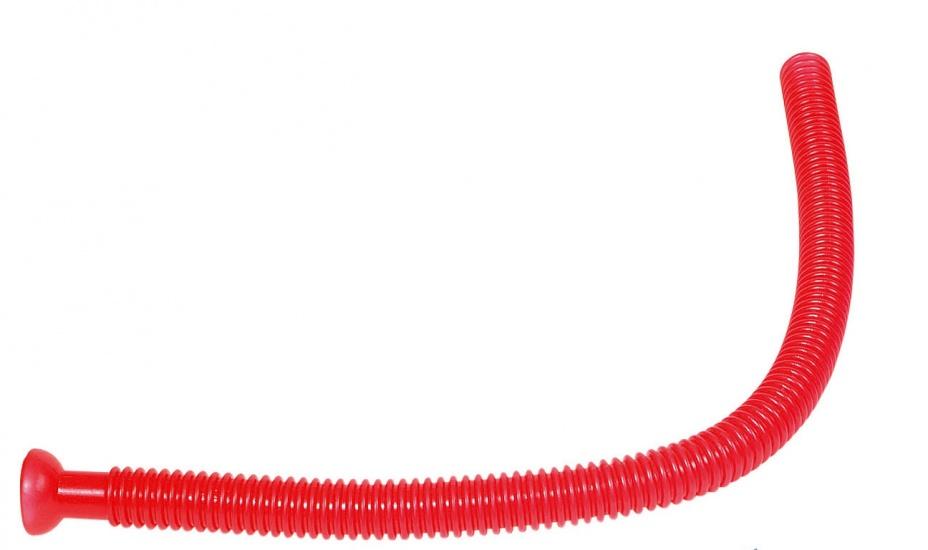 Goki Fluitende Buis: Rood 75 cm