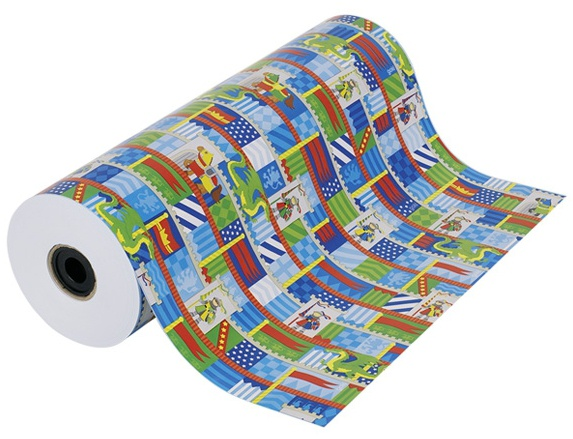 Goki inpakpapier Ridderburcht 250 m 50 cm