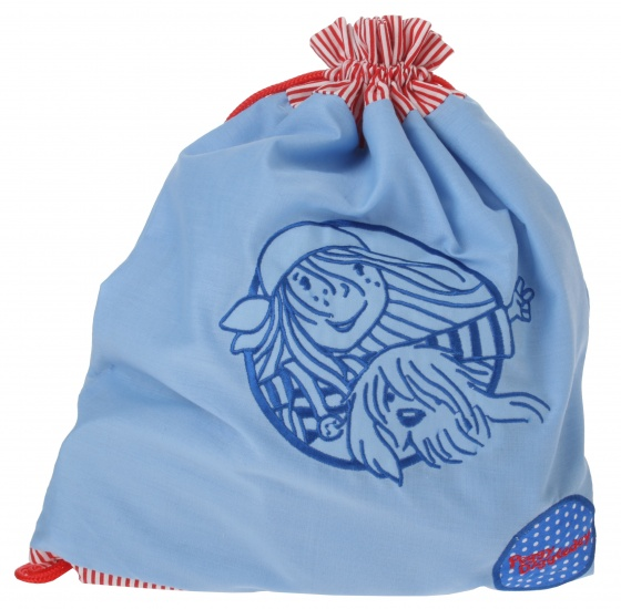 Goki gymtas Peggy Diggledey 27,5 x 35 cm blauw