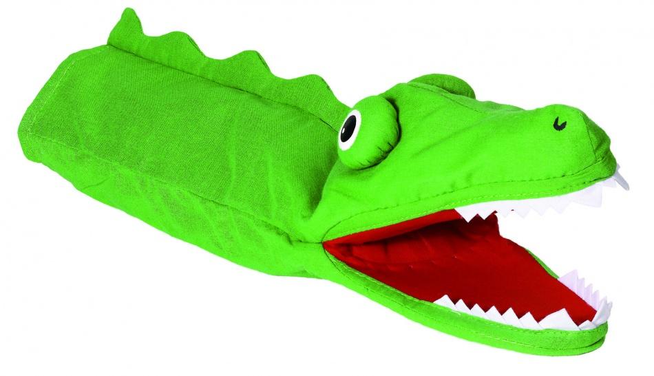 Goki Handpop Krokodil 39cm