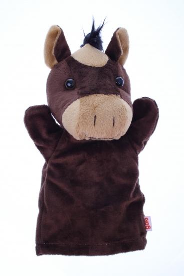 Goki Handpop Paard 28cm