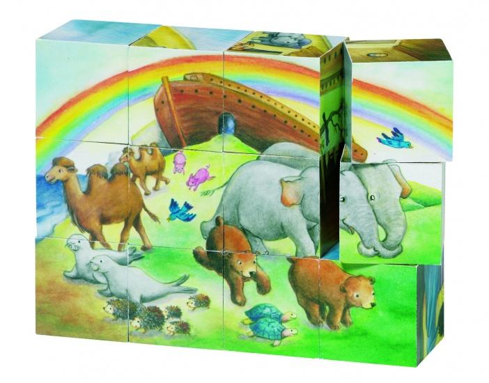 Goki Houten Blokpuzzel De Ark Van Noah