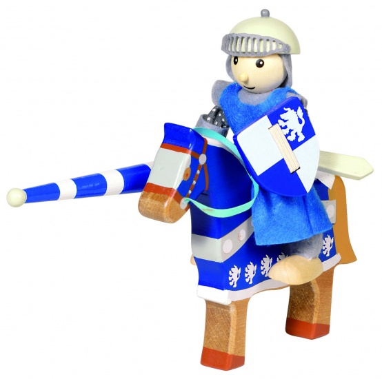 Goki Houten Buigpopje Ridder Lancelod 11cm