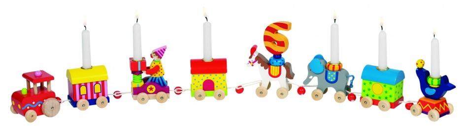 Goki Houten Verjaardagstrein: Circus