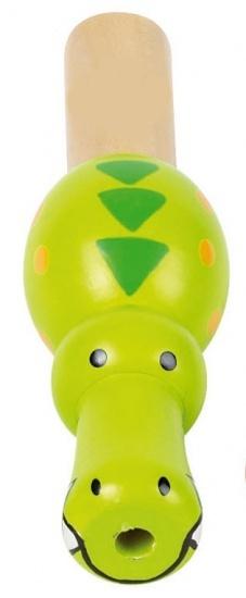 Goki Houten Minifluit Dieren: Krokodil 7,8 9,9 cm