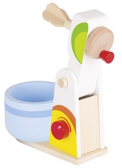 Goki houten mixer set 2 delig