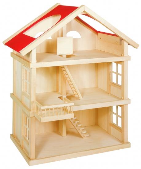 Goki houten poppenhuis groot 65 x 35 x 875 cm 79276