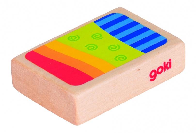 Goki Houten Shaker: 7,1 X 4,8 cm