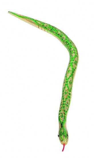 Goki Houten Slang: Groen 50 cm