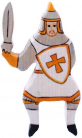 Holztiger Houten Sprookjes en Ridders: Ridder Rijdend Wit