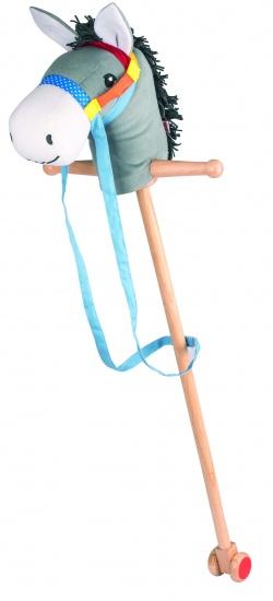 Goki Houten Stokpaard Ezel Emyl 100cm