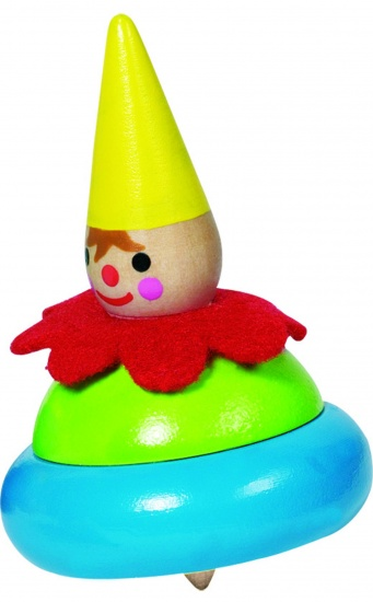 Goki Houten Tol: Clown Geel