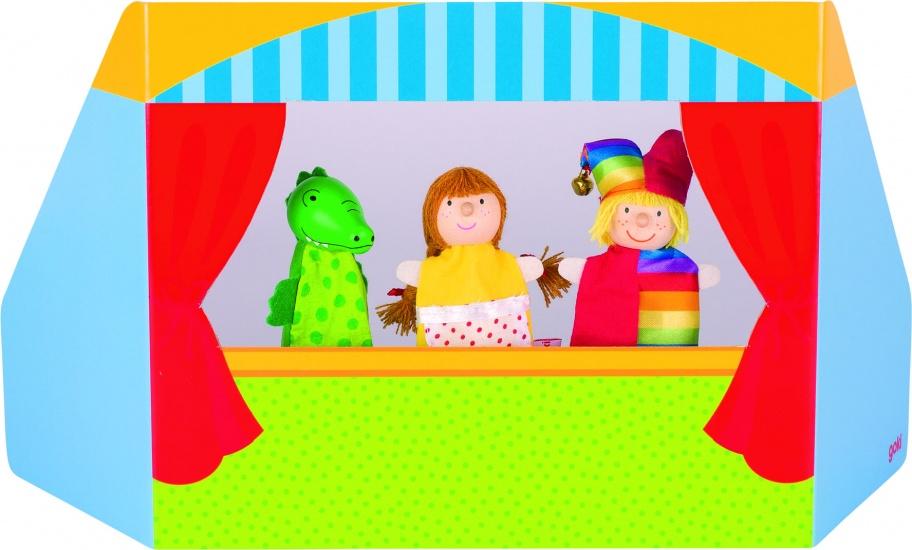 Goki Houten Vingerpoppen Set Kasper 1