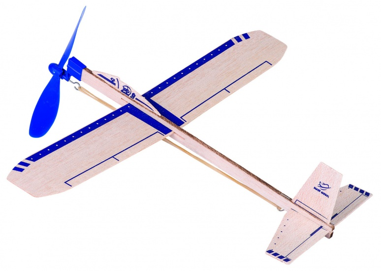 Goki Houten Zweefvliegtuig Eagle Jet: 35,5 cm