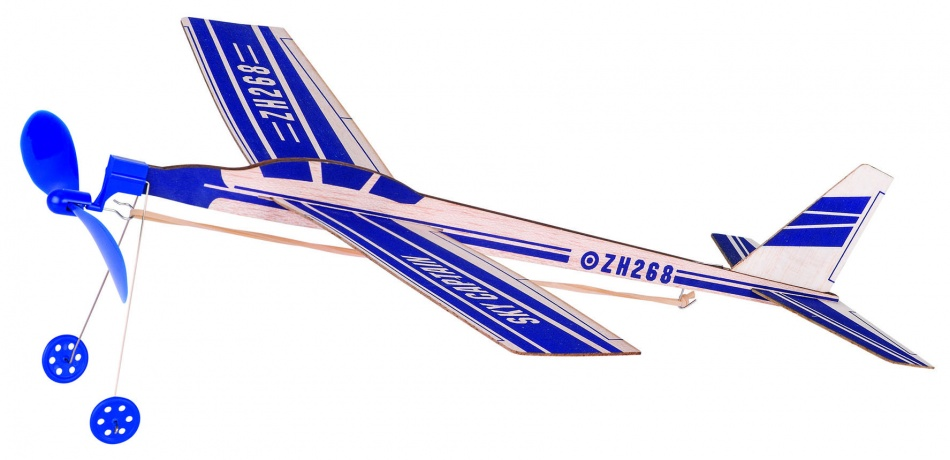 Goki Houten Zweefvliegtuig Sky Captain: 28,8 cm