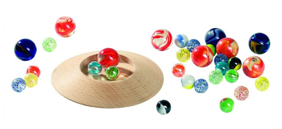 Goki Knikkerspel: Knikkerbord 31 Delig