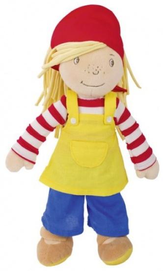 Goki knuffelpop Peggy Diggledey 28 cm
