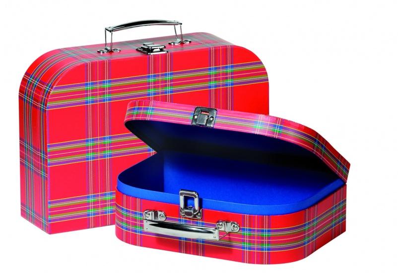 Cause Koffer Set 2 Koffers Schotse Ruiten kopen