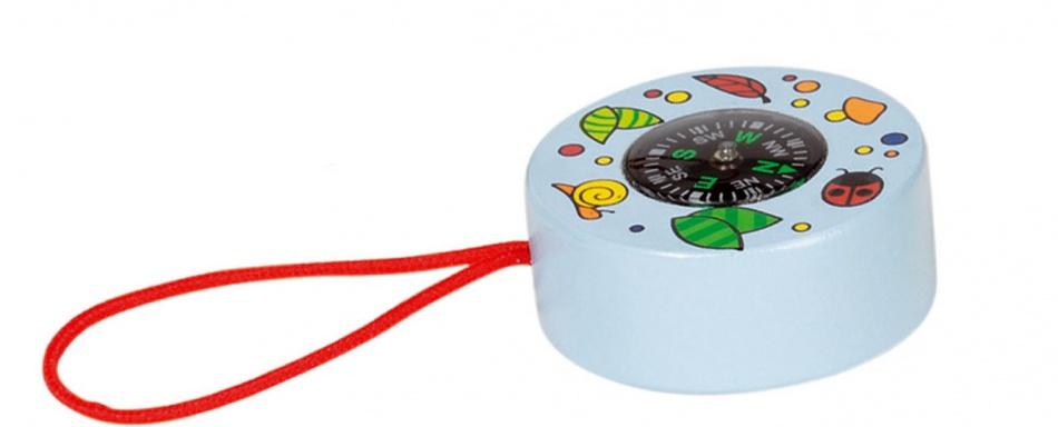Goki Kompas Dieren: Blauw 5 cm