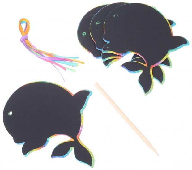 Goki krasmotieven walvis 10 cm