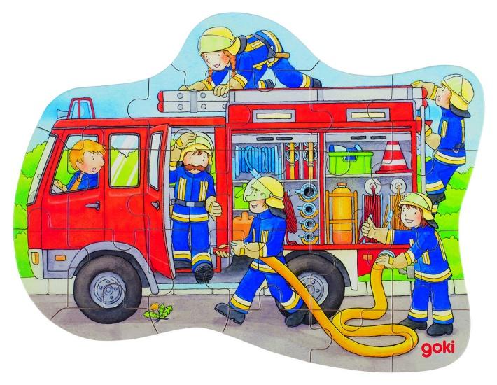 Goki Legpuzzel Brandweer 22 Delig