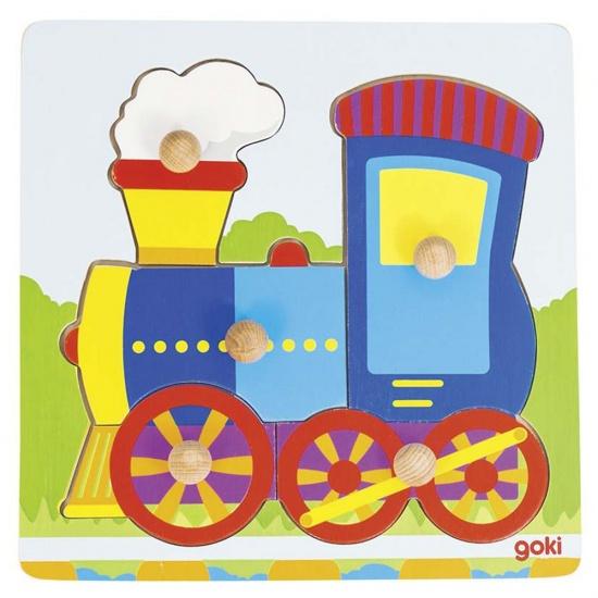 Goki Locomotief Puzzel 5 Delig