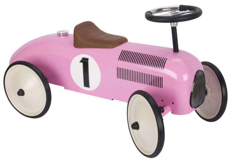 Goki loopauto meisjes roze 73,5 x 35,5 x 40,5 cm