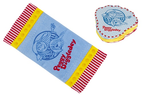 Goki Magische handdoek Peggy Diggledey 30 x 60 cm