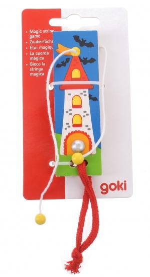 Goki magische touw vuurtoren goocheltruc