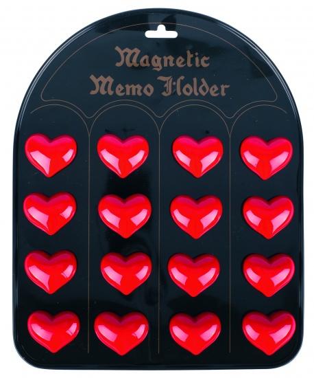 Goki Magneten Hartjes: 16 Stuks