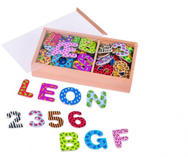 Goki Magneten: Letters en Cijfers 88 Delig