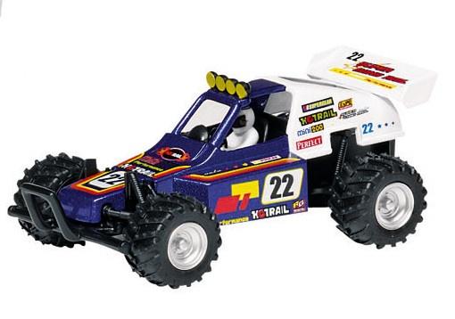 Goki Metalen Auto: Super Buggy 13 cm Blauw