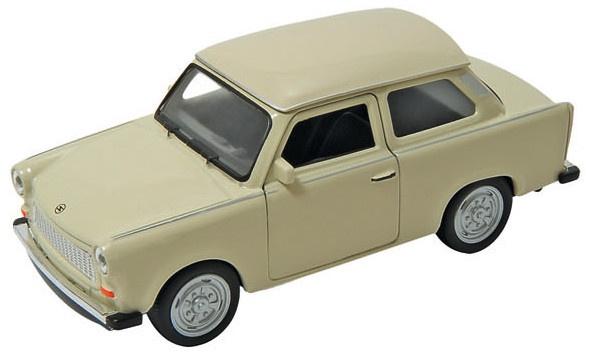 Goki Metalen Auto: Trabant 601 Crème