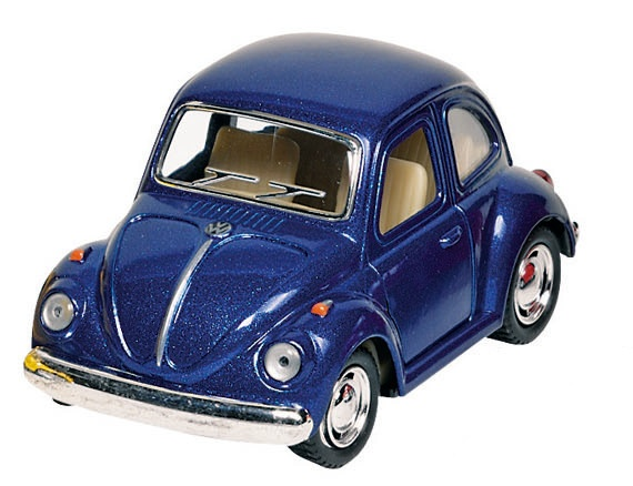 Welly Metalen Volkswagen Klassieke Kever 1967: Blauw