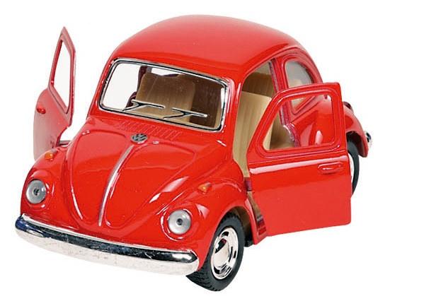 Welly Metalen Volkswagen Klassieke Kever 1967: Rood