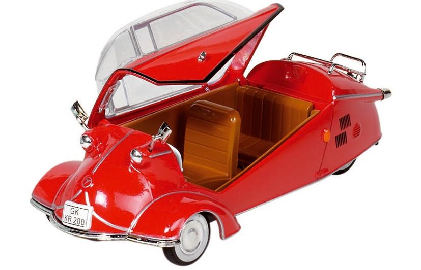 Goki Metalen Messerschmitt KR 200 (1957) Rood