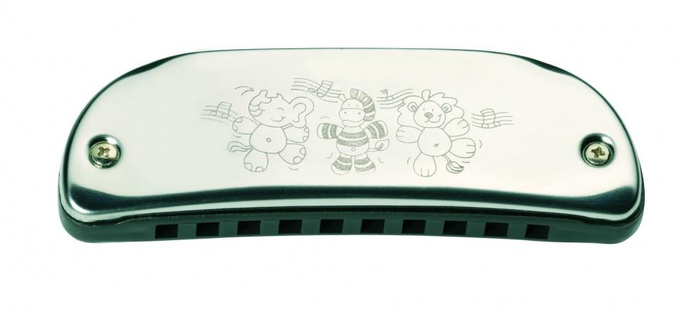 Goki Metalen Mondharmonica 10,5 cm