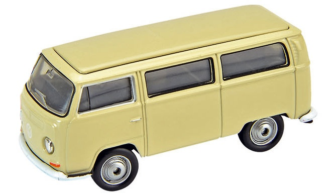 Welly Metalen Volkswagen Bus (1972): Beige