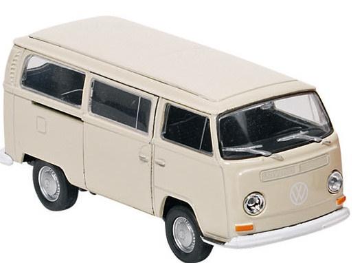 Goki Metalen Volkswagen Bus T2 (1972) Crème