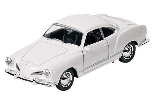 Goki Metalen Volkswagen Karmann Ghia Coupe 1957 Wit
