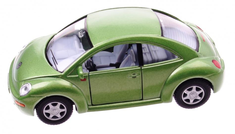 Goki Metalen Volkswagen Nieuwe Kever: Groen 12,7 cm