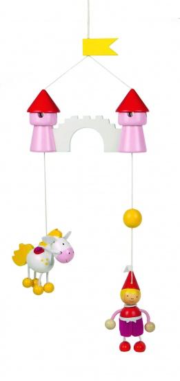 Goki Mobiel Prinses Met Eenhoorn 15 X 40 cm