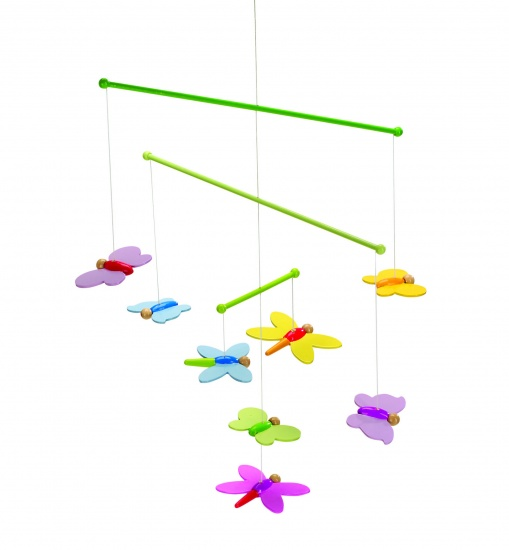 Goki Mobiel Vlinders 33 X 42 cm