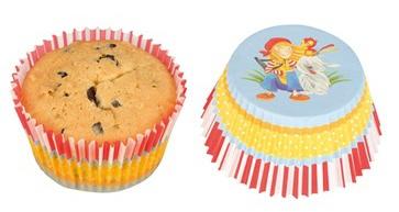 Goki Muffinvormpjes Peggy Diggledey 11,5 cm 60 stuks