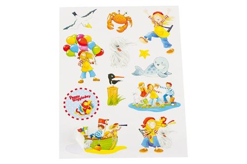 Goki Peggy Diggledey stickervel 15 x 11 cm 12 stickers