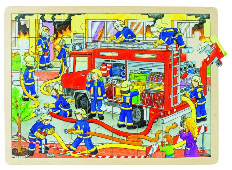 Goki Puzzel: Brandbestrijding 48 Delig