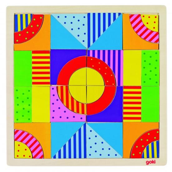 Goki Puzzel Een Wereld Van Kleuren 44 Delig